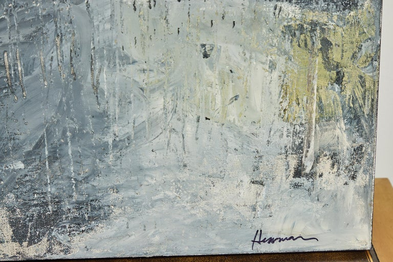 Abstract Painting by Kathryn Hennemann In Good Condition For Sale In Pasadena, CA