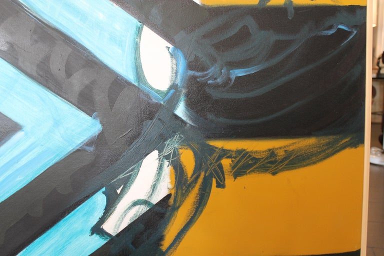Modern Abstract Painting by Kyle Glenn For Sale