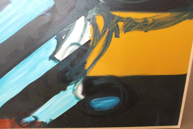 American Abstract Painting by Kyle Glenn For Sale
