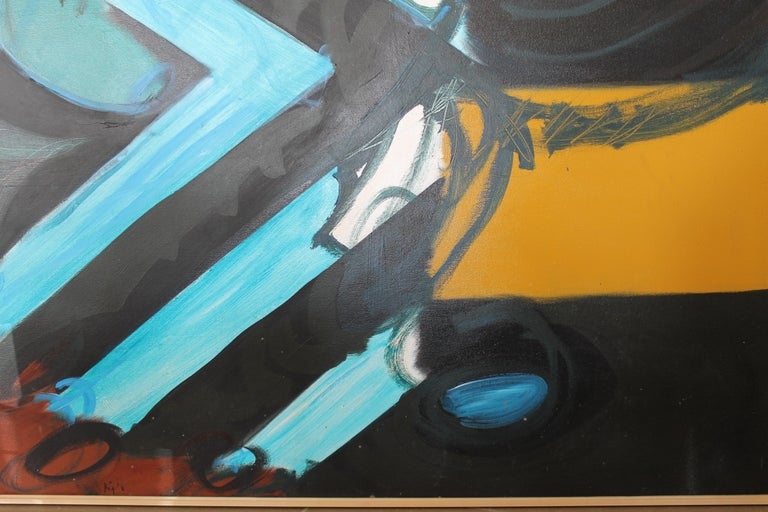 Abstract Painting by Kyle Glenn In Good Condition For Sale In Palm Springs, CA