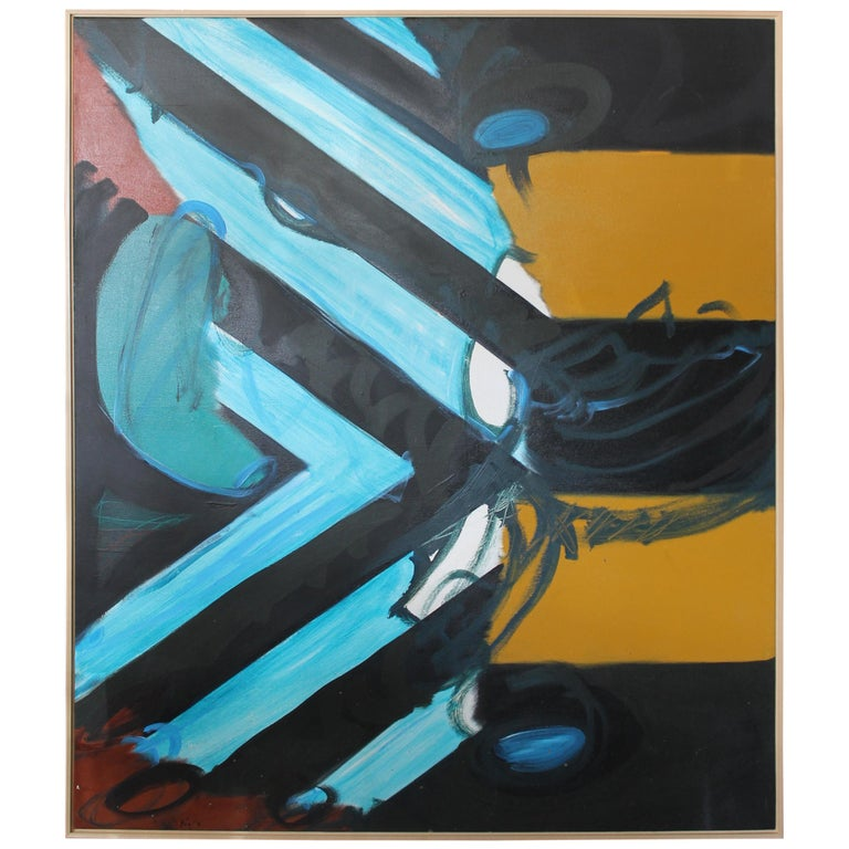 Abstract Painting by Kyle Glenn For Sale