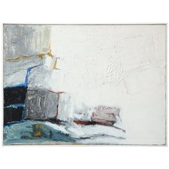 Abstract Painting by Michael Argov, Israel, 1961-1964