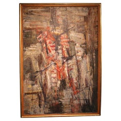 Abstract Painting by Moser