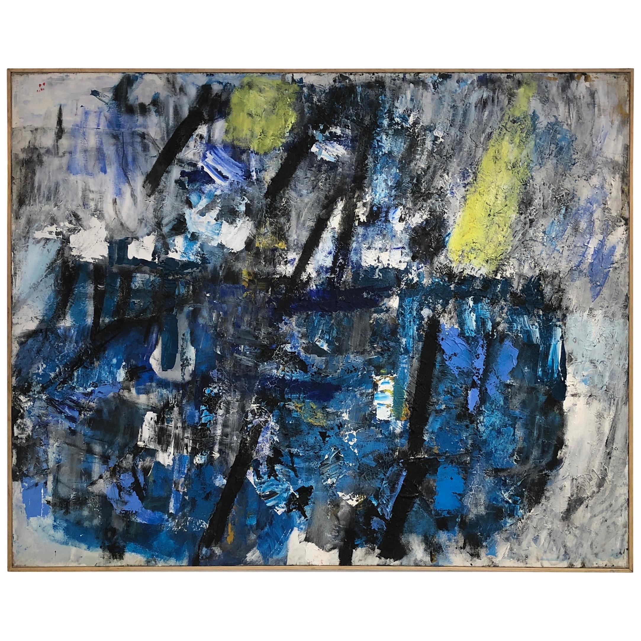 Abstract Painting by Nicolas Nicolov