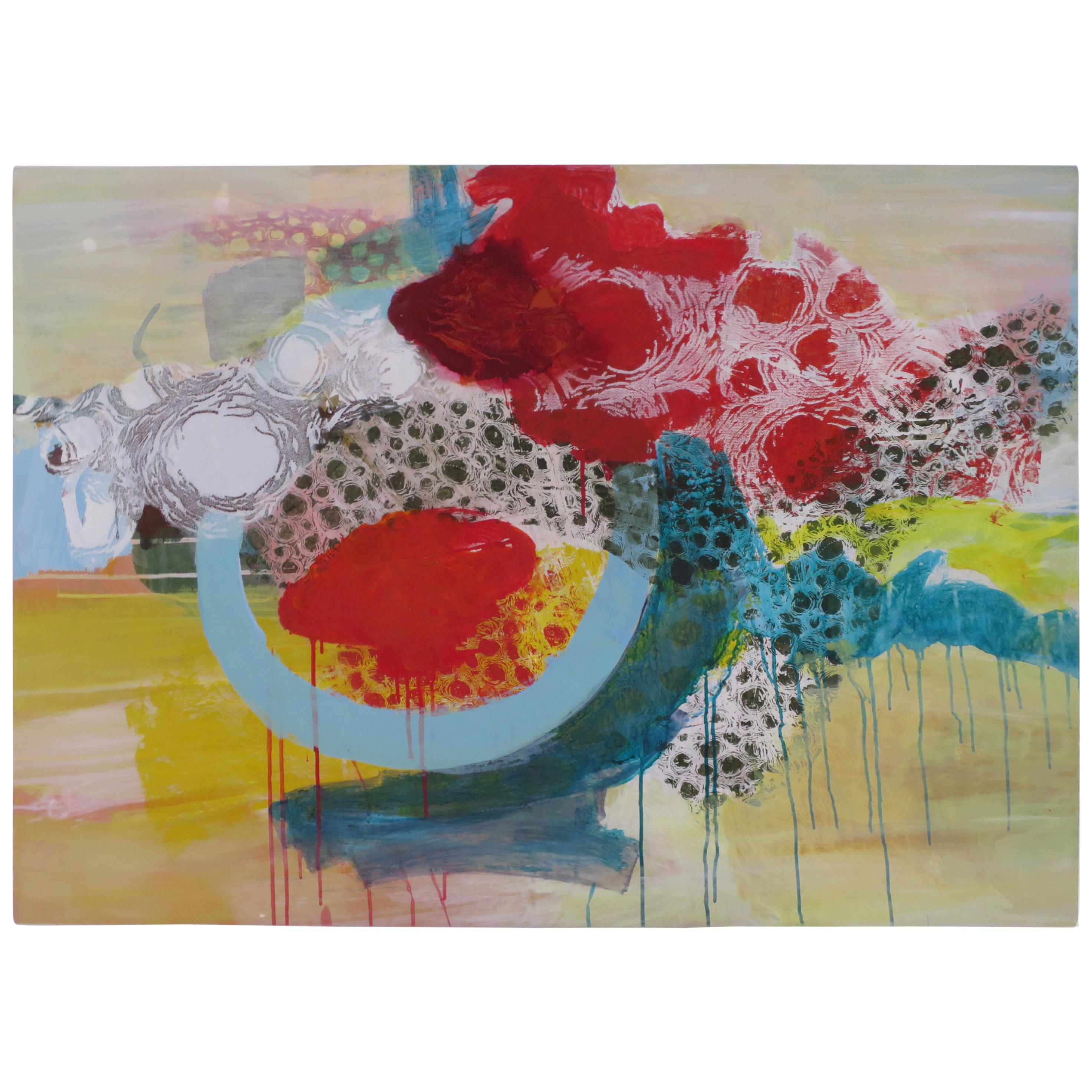 Abstract Painting by Pepa Leon