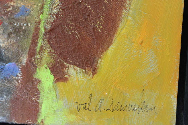 Mid-20th Century Abstract Painting by Val Samuelson For Sale