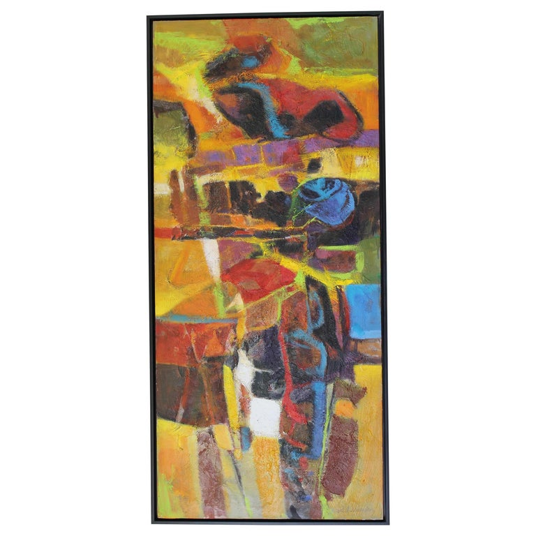 Abstract Painting by Val Samuelson For Sale
