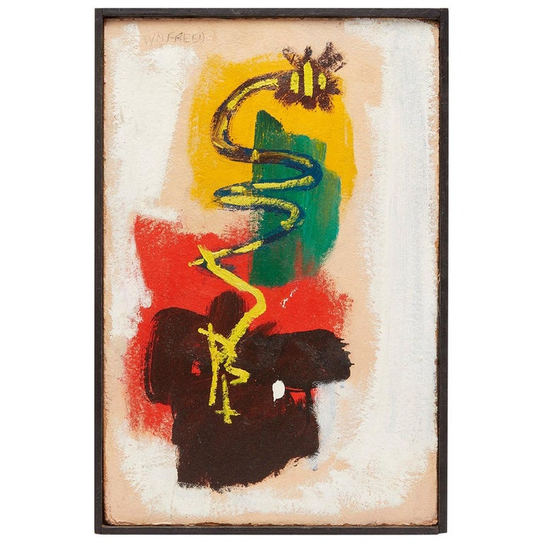 Abstract Painting by William Freed For Sale