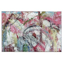 """Abstract Painting by William Phelps Montgomery """"Windy City 2"""" Mixed-Media, 2019"""