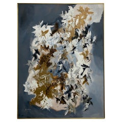 Abstract Painting on Board, 1970s