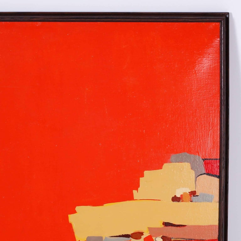 Abstract Painting on Canvas For Sale 2