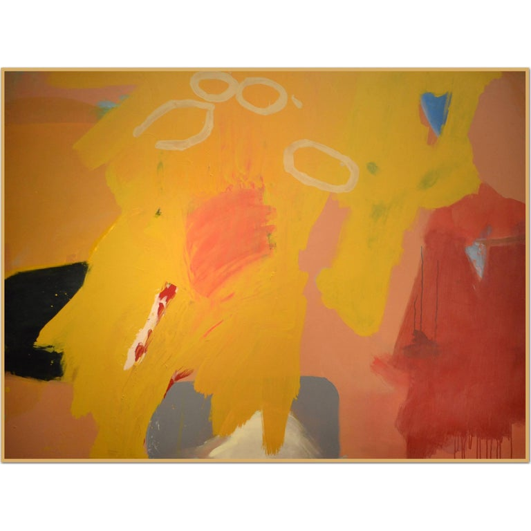 Abstract Painting Titled Man Is a Savage Beast by Artist John Luckett