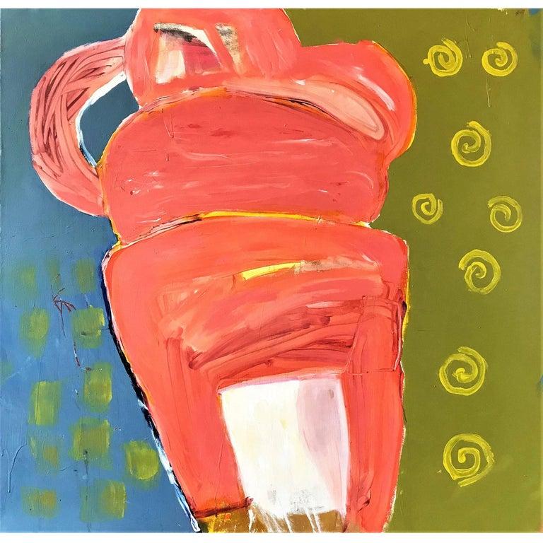 "Abstract Painting Titled ""Matilde"" by Artist John Luckett"