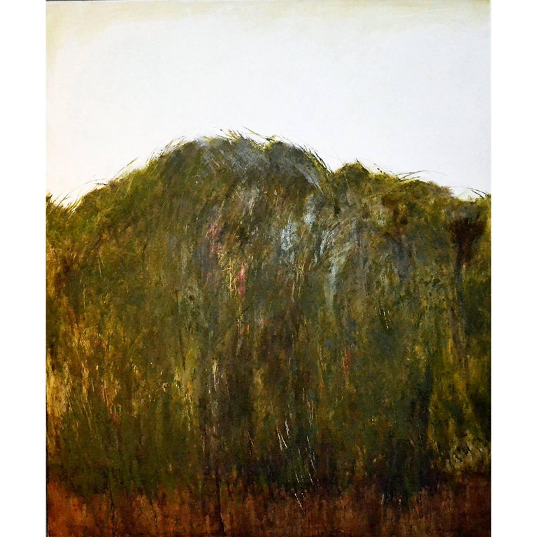 """Abstract Painting Titled """"Rain Forest"""" by Brian Hagiwara"""