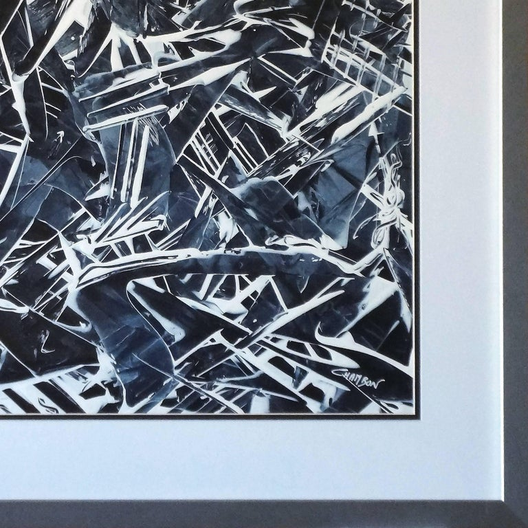 American Abstract Painting Titled