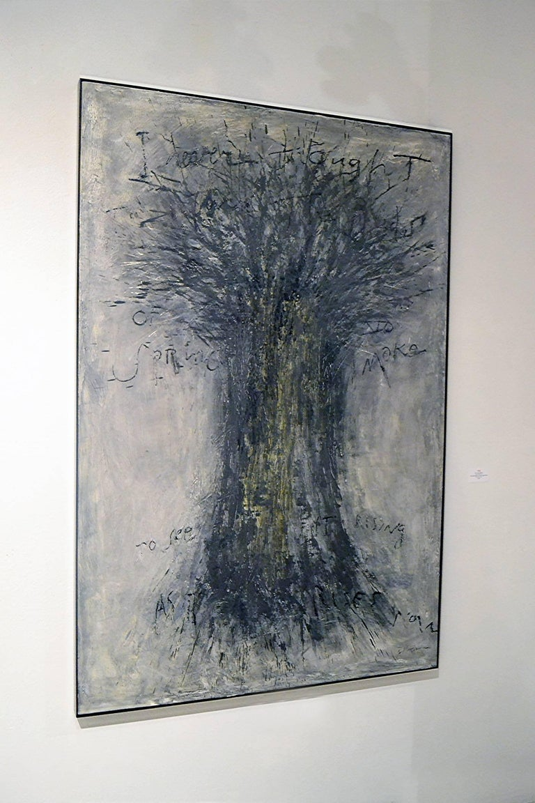 Brian Hagiwara without a doubt is well-known and acclaimed for his brilliant still life photography, having photographed everything from Subway Sandwiches to Bobby Brown Cosmetics and more. This impressive abstract oil and mixed media on canvas is