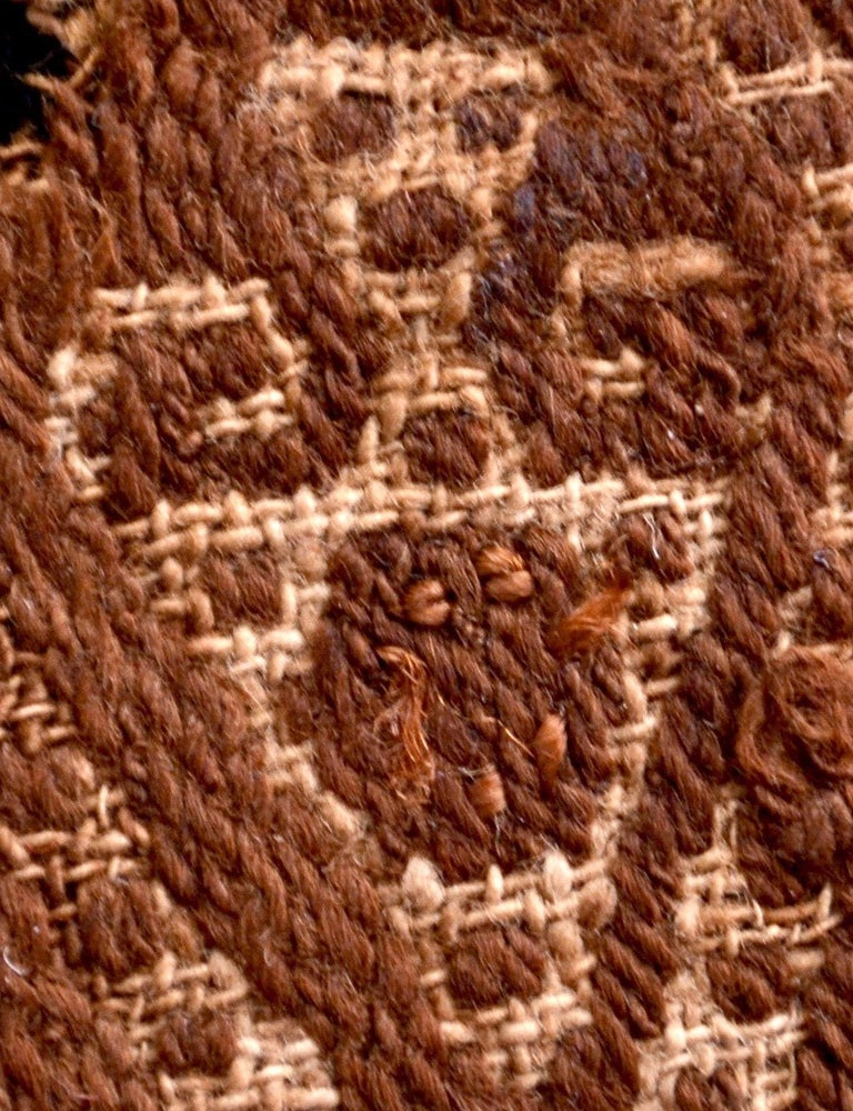 Hand-Woven Abstract Paracas Precolumbian Textile, Peru, 1100-1400 AD, Ex Ferdinand Anton For Sale