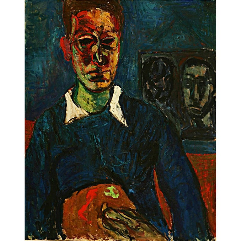 Abstract Portrait Man For Sale