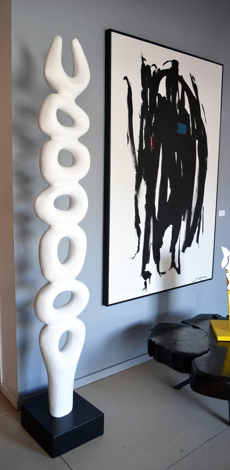 Abstract Rise Up Series Sculpture by Artist Birgit Piskor, Canada In Excellent Condition For Sale In Cathedral City, CA