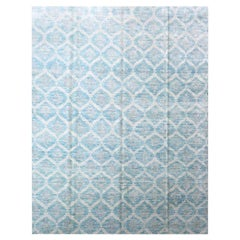 Abstract Rug, Mosaic Wool Design