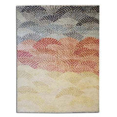 Abstract Rug. Silk and Wool Design. 2,50 x 2,00 m.