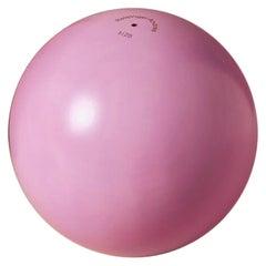 Abstract Sculpture Pink Ball AP #1 by Reisinger Andrés