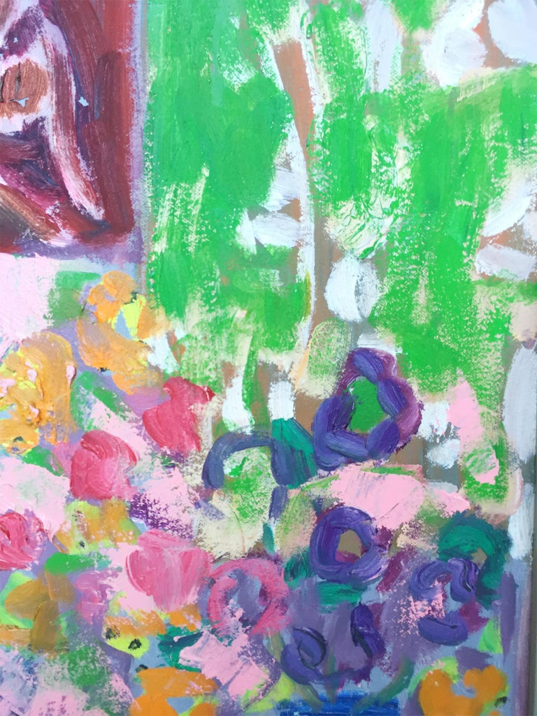 Abstract Still-Life Painting by Peter Gee In Excellent Condition In New York, NY