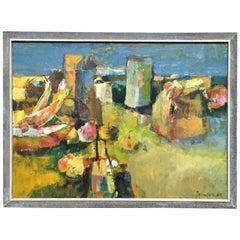 Abstract Still Life Signed Johnson, 1963