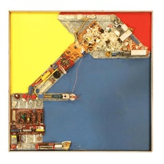 "Abstract ""Sugar Plumb Fairly"" Artography Mixed Media Wall by Pasqual Bettio"