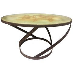 Abstract Tile Table From Abbaye Du Bec