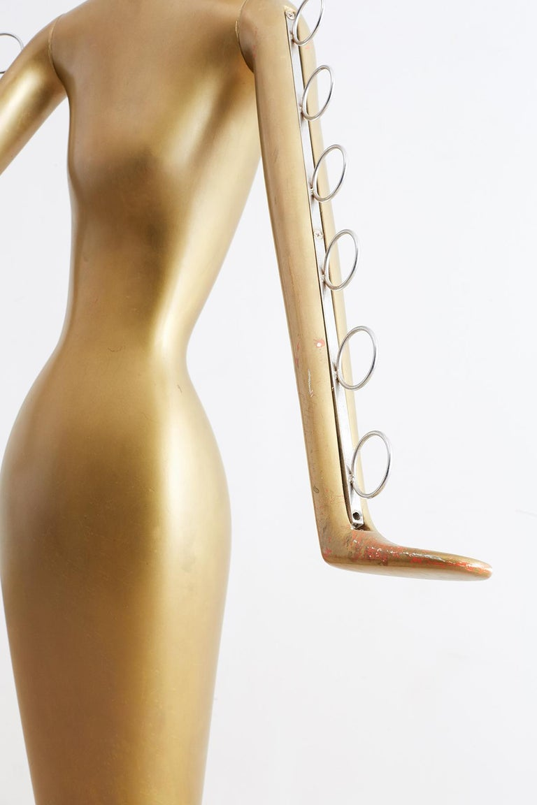 Abstract Tulip Form Female Mannequin Display Sculpture For Sale 5