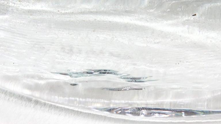 Abstract Wall Art Glass Sculpture Studio Glass B. Schagemann For Sale 5
