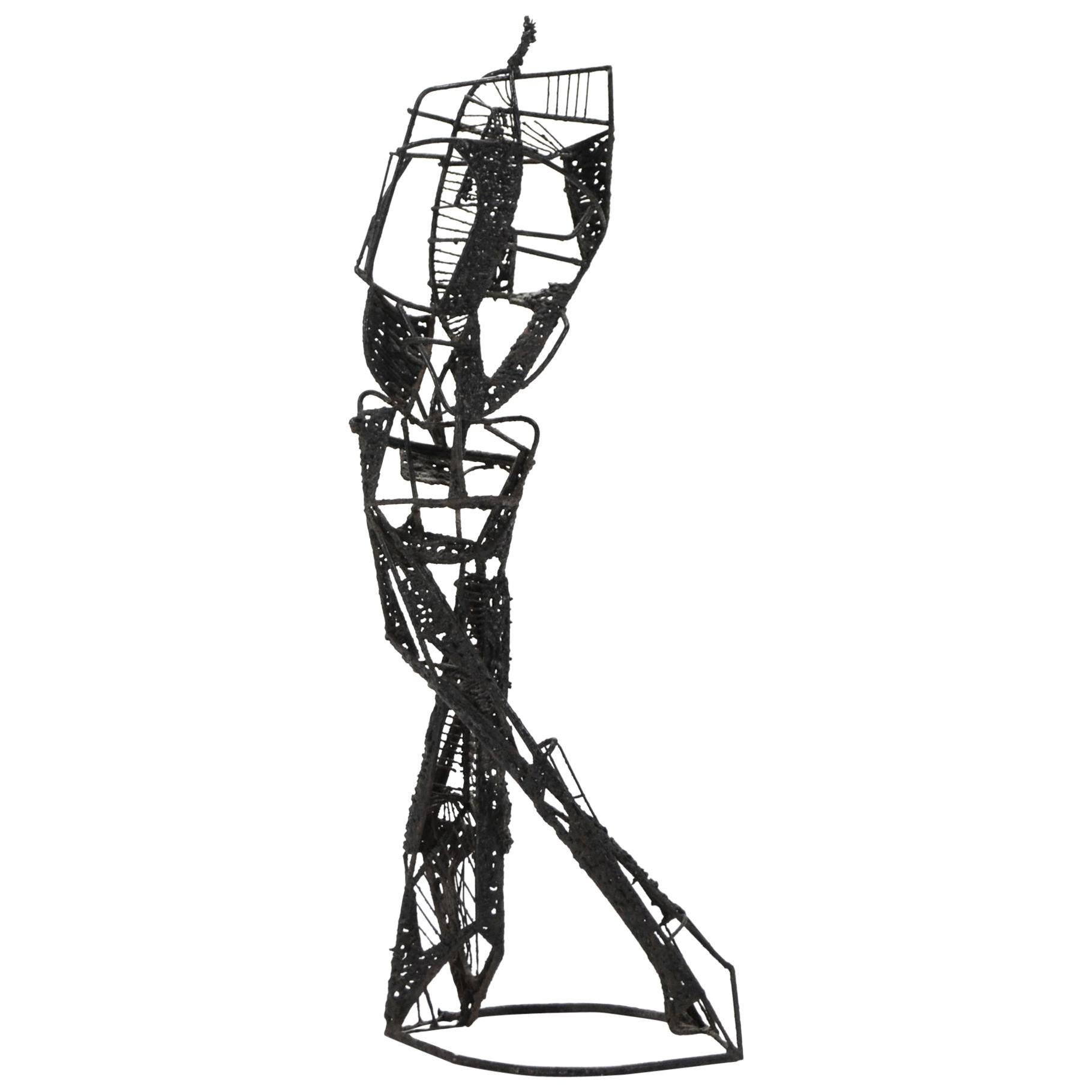 Abstract Wire Sculpture