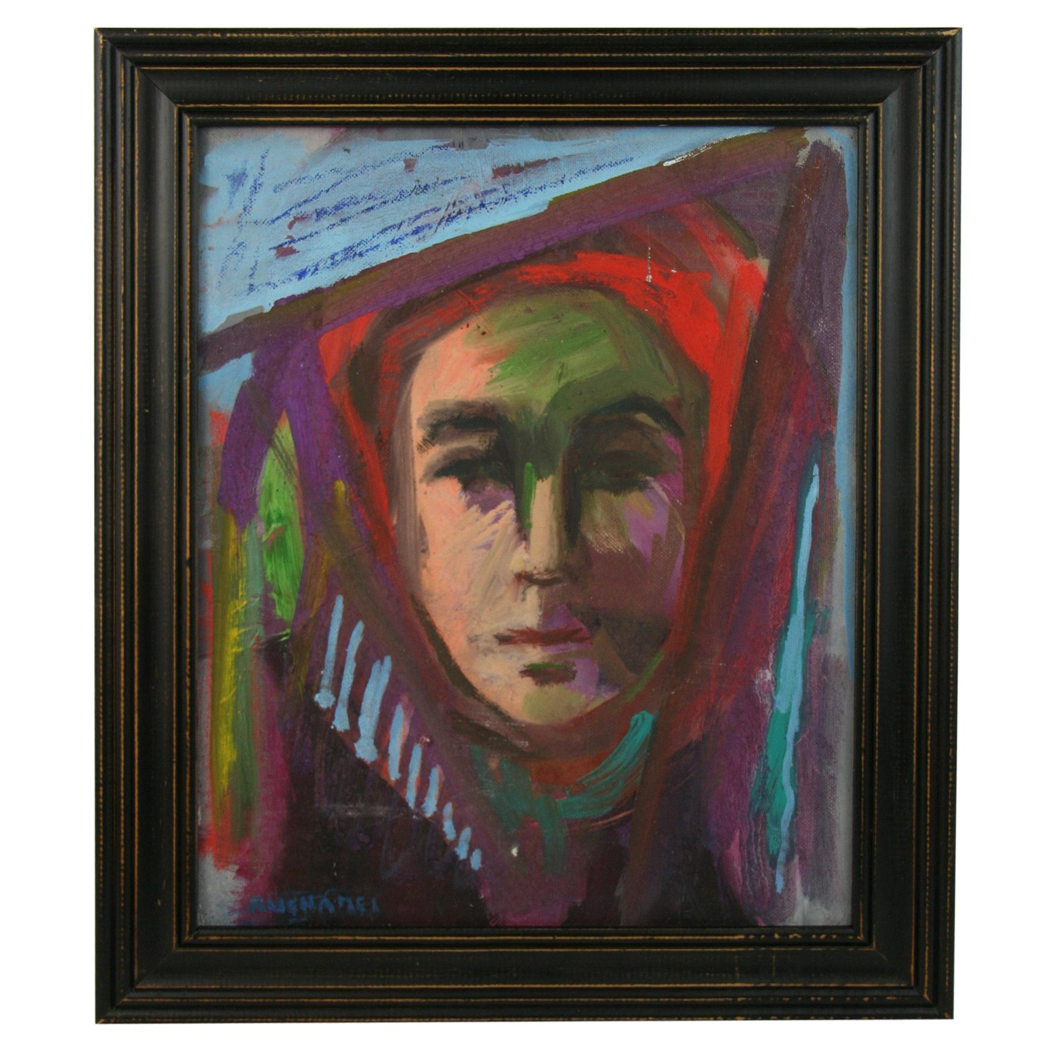 Abstract Woman Figurative Painting