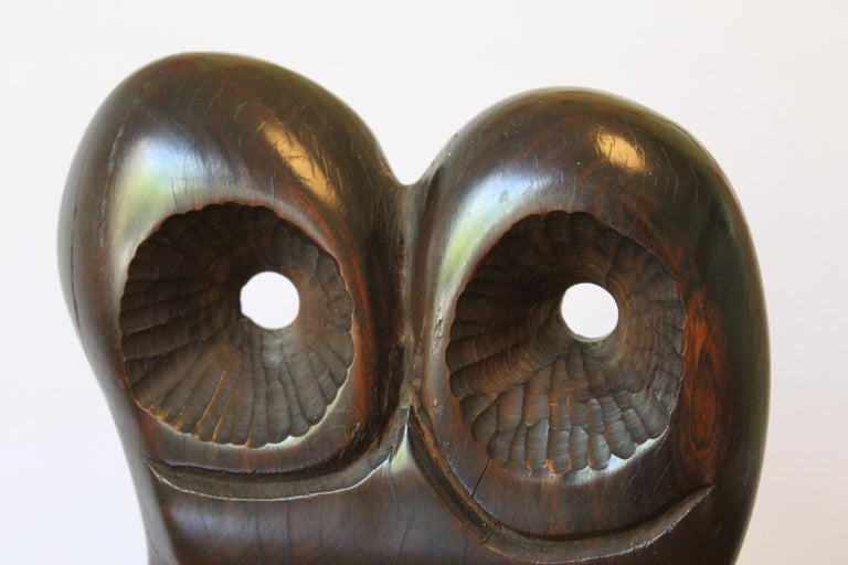 Abstract Wood Sculpture In Excellent Condition For Sale In Palm Springs, CA