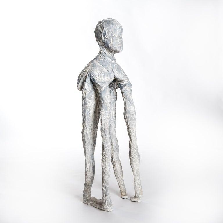 Modern Abstract Wooden Sculpture
