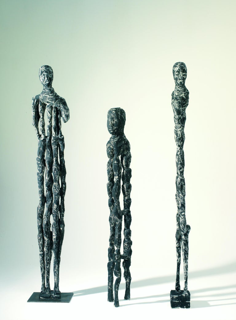 Abstract Wooden Sculpture
