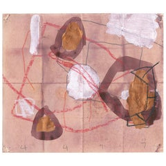 Abstract Work on Paper by M. P. Landis, from Warehouse Drawing Series