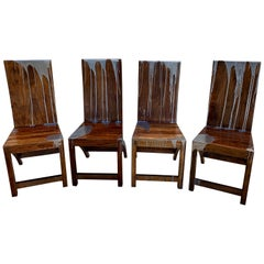 Acacia Wood Chairs
