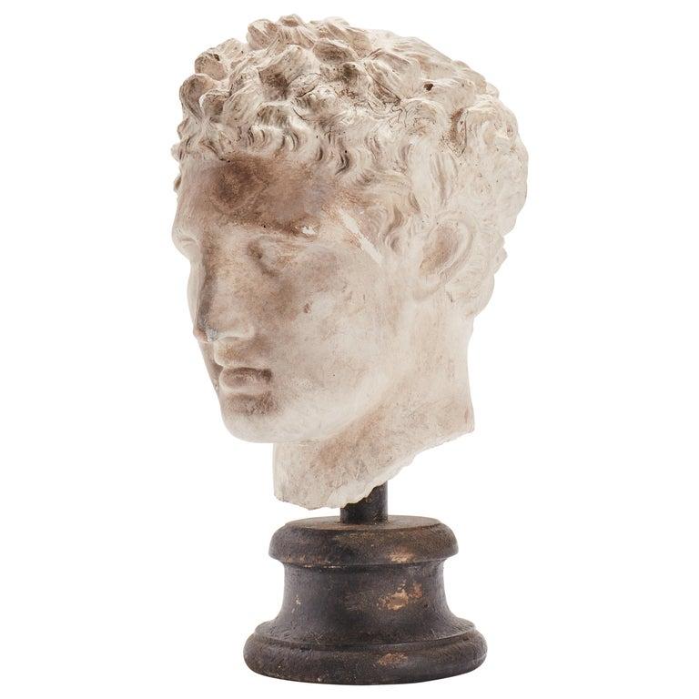 Academic Cast Depicting Hermès Head, Italy, 1890