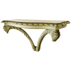 Acanthus Leaf Wall Bracket in the Manner of Dorothy Draper