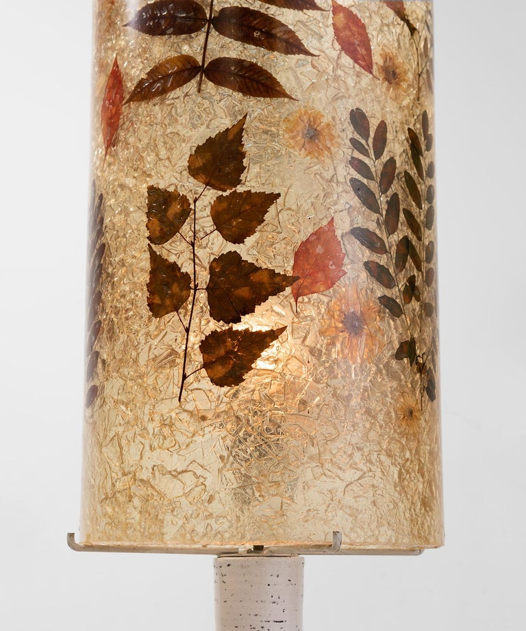 Accolay Ceramic and Resin Table Lamp, circa 1950 For Sale 1