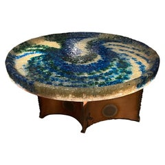 Accolay Fractured Resin Coffee Table