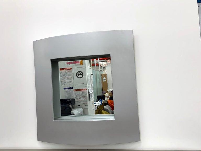 Italian Acerbis Wall Mirror and Bobilla Shelves by Enrico Baleri For Sale