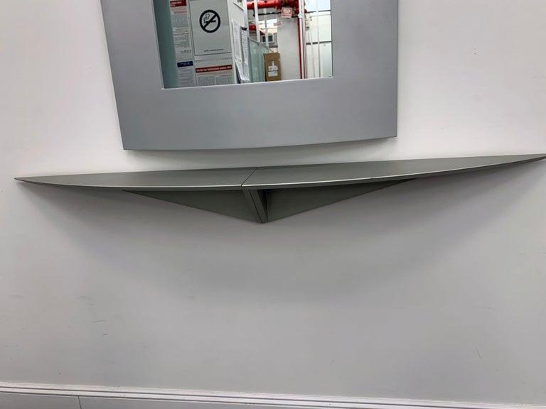 Contemporary Acerbis Wall Mirror and Bobilla Shelves by Enrico Baleri For Sale