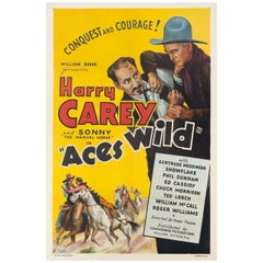 """""""Aces Wild"""" R1948 U.S. One Sheet Film Poster"""