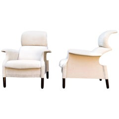 "Achille and Giacomo Castiglioni ""Sanluca"" Armchair for Gavina, 1960, Set of 2"