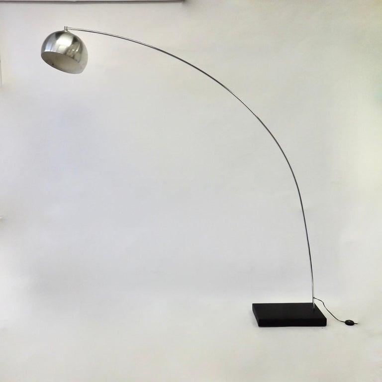 Achille and Pierre Giacomo Castiglioni Styled Arco Lamp For Sale 5