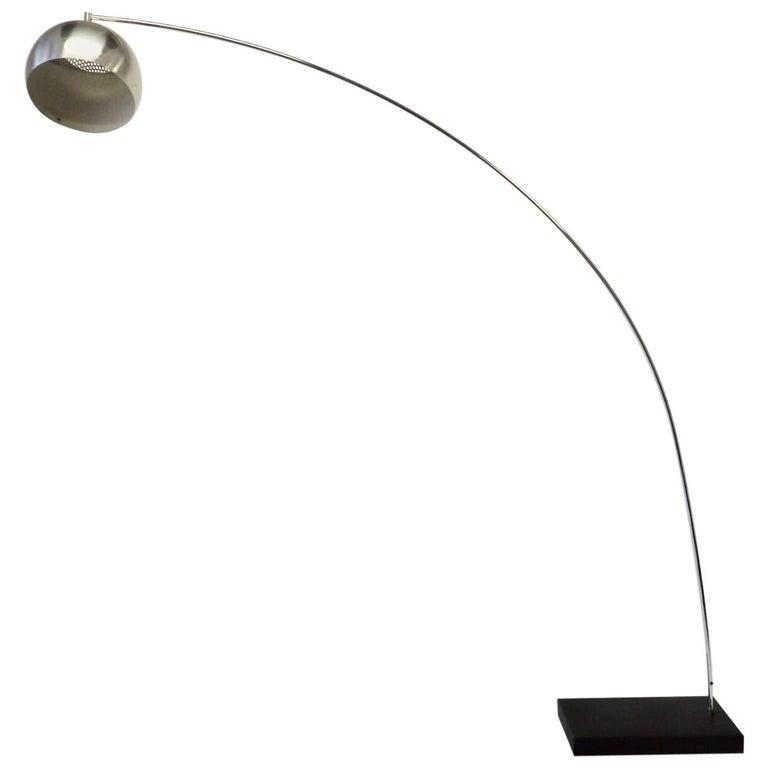 Achille and Pierre Giacomo Castiglioni Styled Arco Lamp For Sale