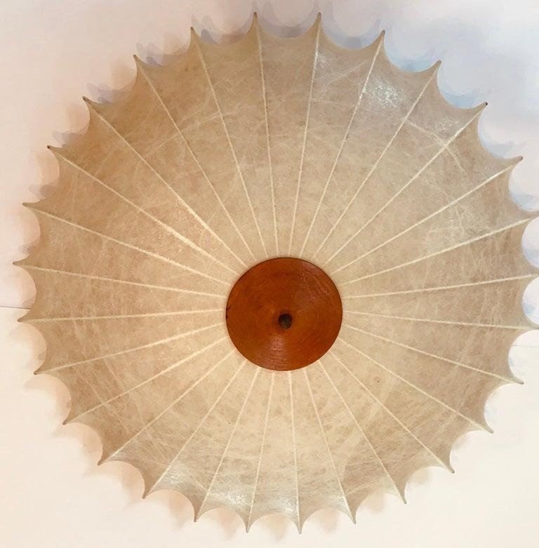 Mid-20th Century Achille Castiglioni 1960s Italian Flush Ceiling Light For Sale